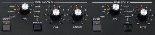 SV1 Controls ModFX Reverb