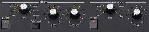 SV1 Controls PreFX Amp Model