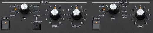 SV1 Controls PreFX Amp Model