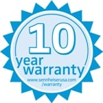 Sennheiser 10 Year Warranty