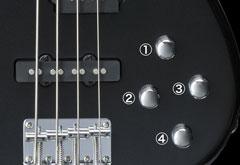 Yamaha RBX204 Controls