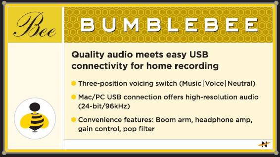 Neat Microphone Bumblebee
