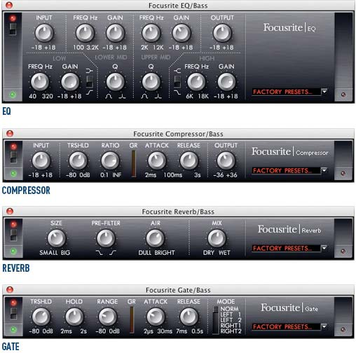 Focusrite Plug In Suite