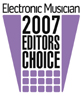 Electronic Musician 2007 Editor's Choice