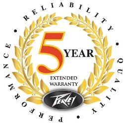 Peavey 5 Year Extended Warranty