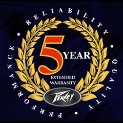 Peavey 5 Year Extended Warranty