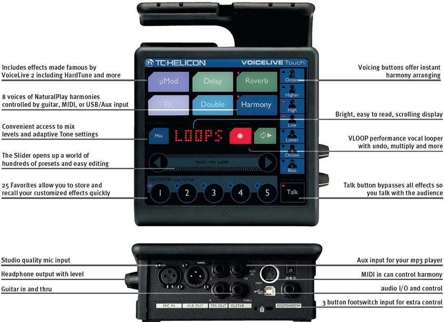tc helicon voicelive touch vocal effects processor. Black Bedroom Furniture Sets. Home Design Ideas