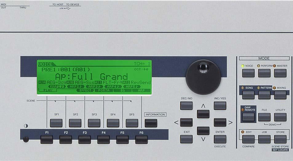 Yamaha M06 61 Key Synthesizer Workstation