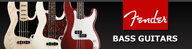 Fender Bass Guitars