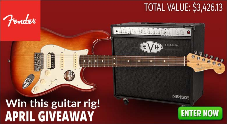 Fender April Giveaway