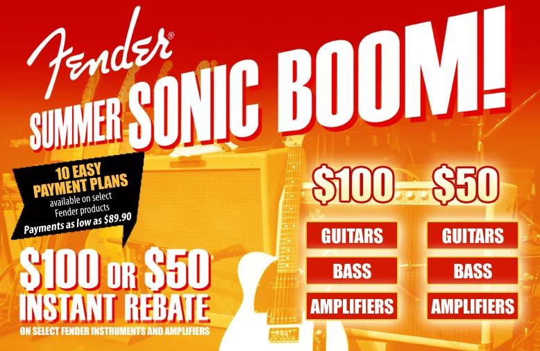 Summer Sonic Boom Instant Rebate