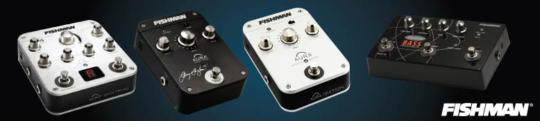 Fishman Pedals and Preamps