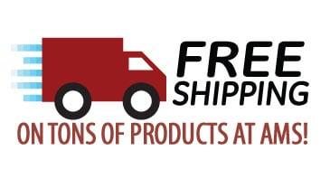 Free Shipping on Tons of Items at AMS!