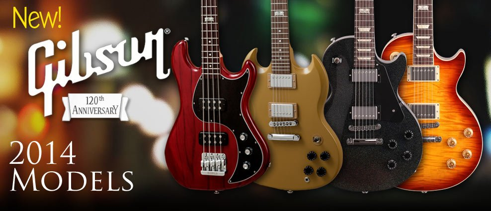 Gibson 2014 Models