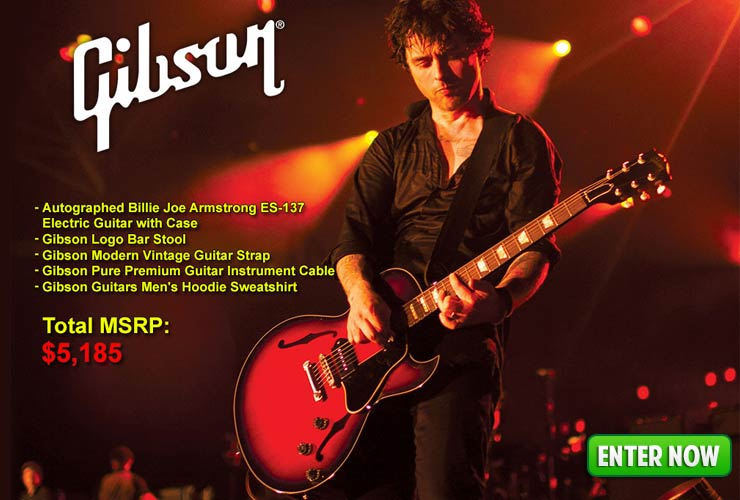Gibson Billie Joe Giveaway