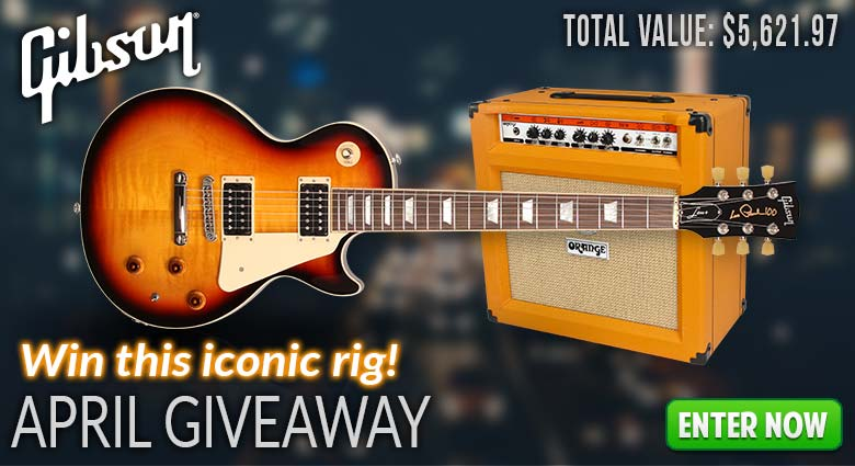 Gibson April Giveaway