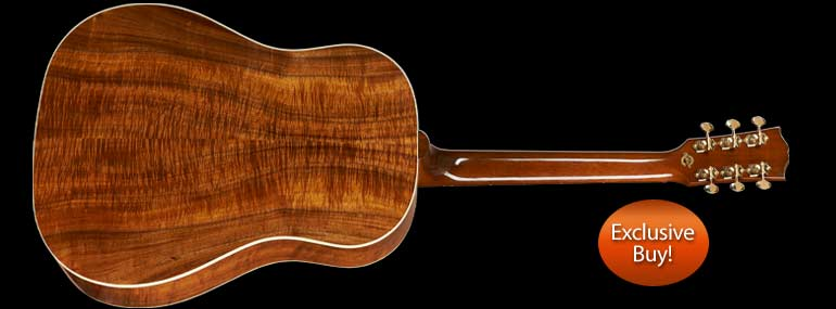 Gibson Limited Edition J45 Koa Acoustic Electric Guitar