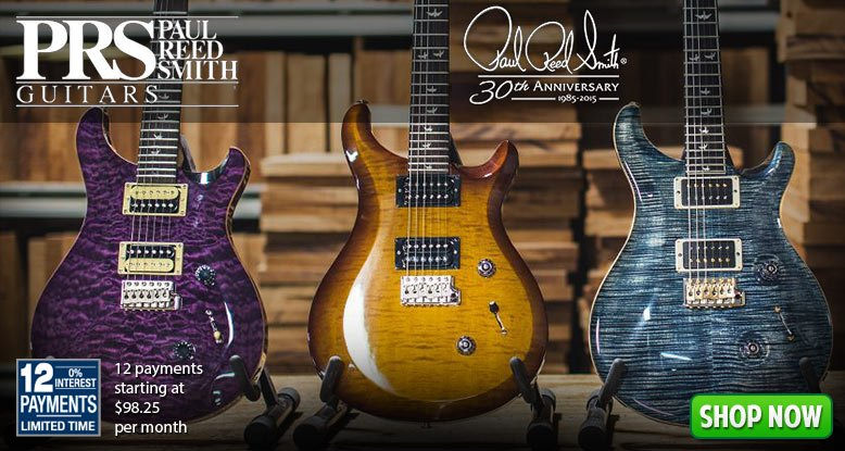 Paul Reed Smith 12 Payments