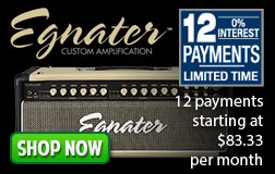 Egnater 12 Payments