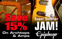 Epiphone Archtop Guitars