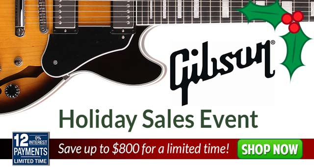 Gibson Holiday Sales Event