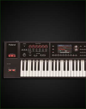 Roland FA-06 61-Key Synthesizer Workstation Keyboard