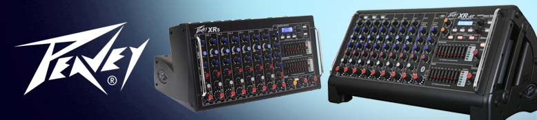 Peavey Powered Mixers