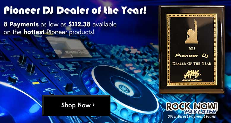 AMS - Pioneer DJ Dealer of the Year!