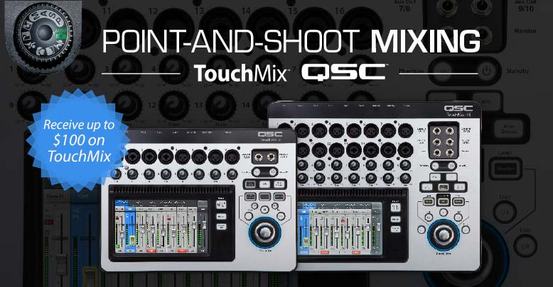 QSC Touchmix Point Shoot