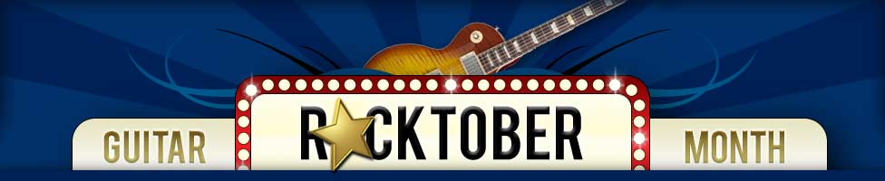 Rocktober Guitar Month Giveaway