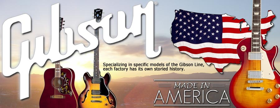 Gibson American Factory Tour