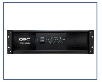 QSC RMX Series Amplifiers