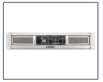 QSC GX Series Amplifiers