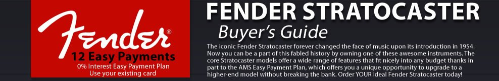 Fender Stratocaster Buyer's Guide