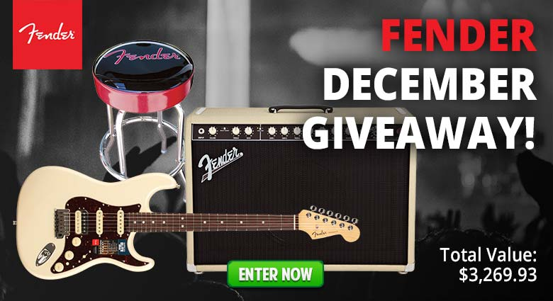 Fender December Giveaway