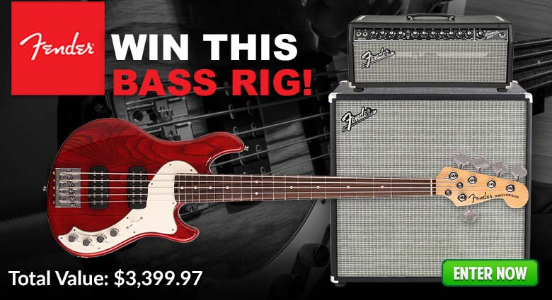 Fender Bass Giveaway