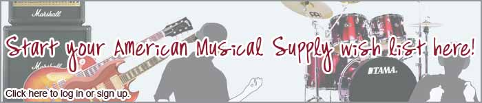 Acceder a iniciar su lista de deseo de American Musical Supply aquí.