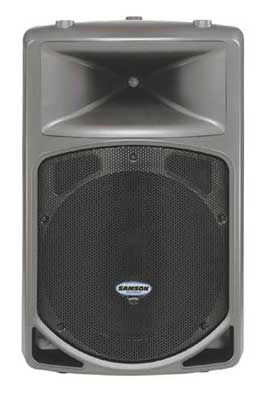 review samson db500a powered pa speaker. Black Bedroom Furniture Sets. Home Design Ideas
