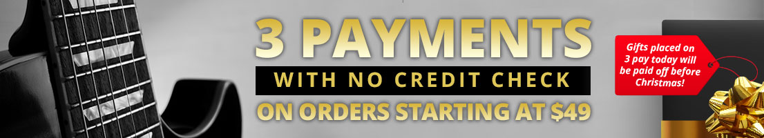 3 Payments with no credit check!