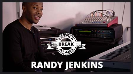Randy Jenkins catches a break at AMS