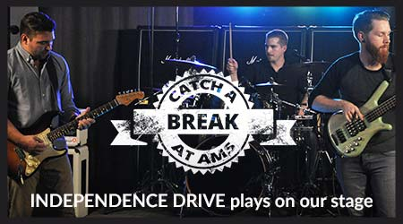 Independence Drive plays on our stage
