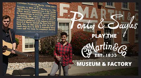 Porter and Sayles play the Martin Museum and Factory