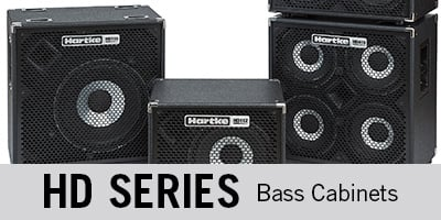 HD Series Bass Cabinets