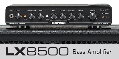 LX 8500 Bass Amplifier