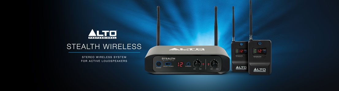 Stealth Wireless - Stereo Wireless System for Active Loudspeakers