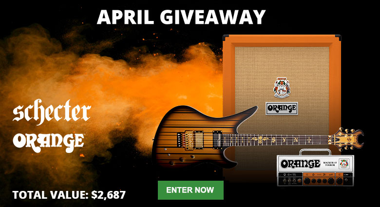 Enter our April Giveaway