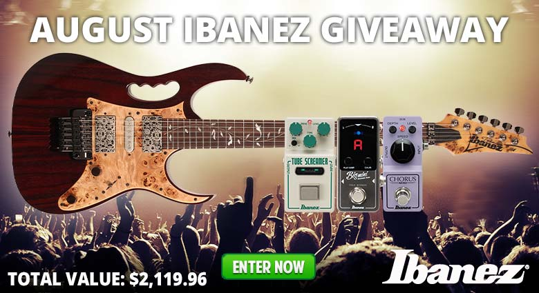 August Ibanez Giveaway