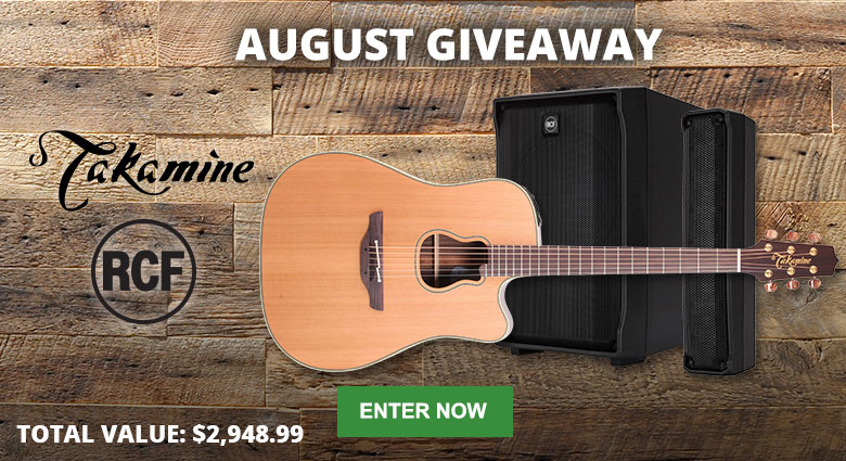 Enter our August Giveaway