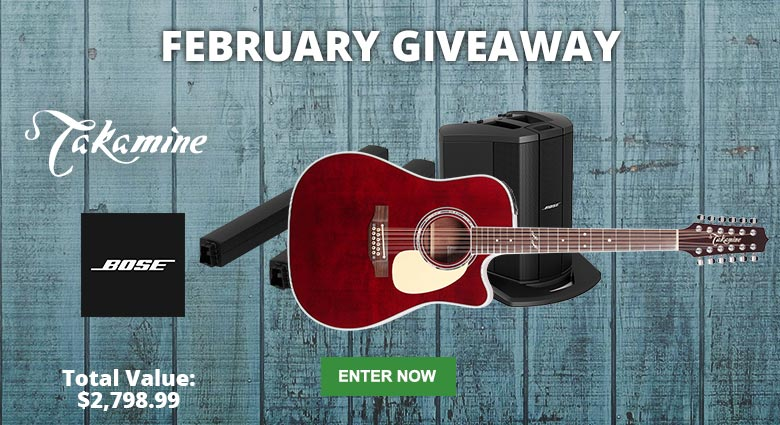 Enter our February Giveaway