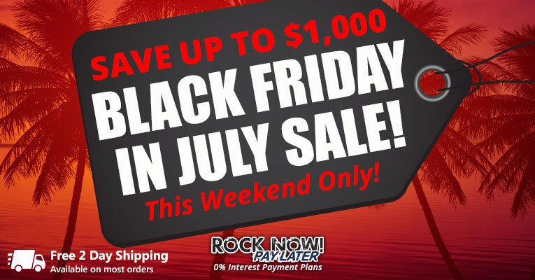 Black Friday in July Sale!